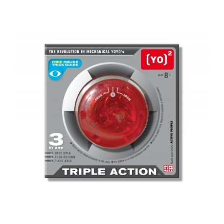 Yoyo Triple Action Active People Crystal