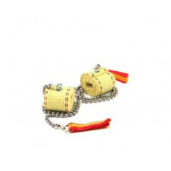 Fire Chain Channel wick 4,5 cm (the pair)