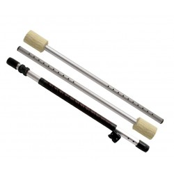 Fire Staff 3 parts telescopic Play 110/150 cm